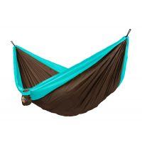 Colibri Turquoise - Dobbelt-rejsehængekøje inkl. monteringssæt