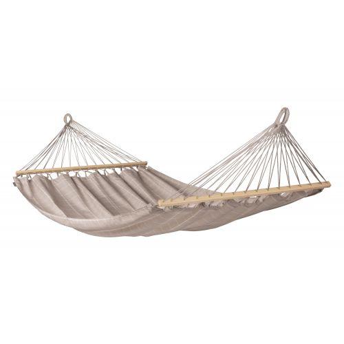 Alisio Almond - Dobbelt-hængekøje med tværpind outdoor