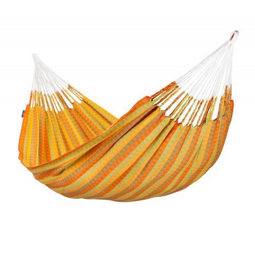 Carolina Citrus - Klassisk dobbelt-hængekøje i bomuld