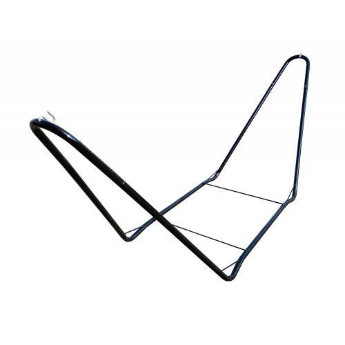 CHILLOUNGE® Black - Pulverlakeret stål- stativ til single-hængekøjer