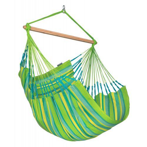 Domingo Lime - Vejrbestandig comfort hængekøjestol