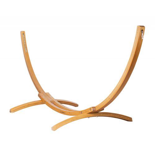 Elipso Nature - Stativ af FSC™-certificeret lærketræ til dobbelt-hængekøjer