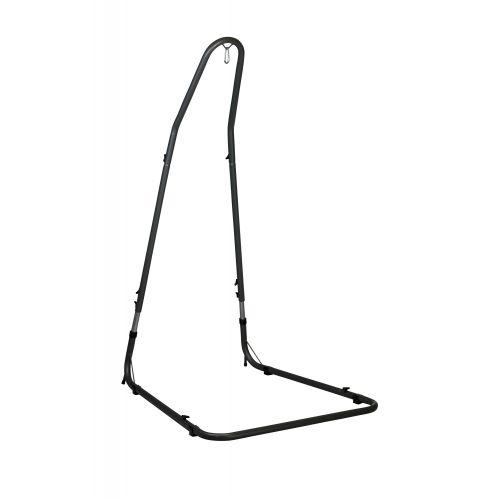 Mediterráneo Anthracite - Pulverlakeret stål- stativ til Basic-hængekøjestole