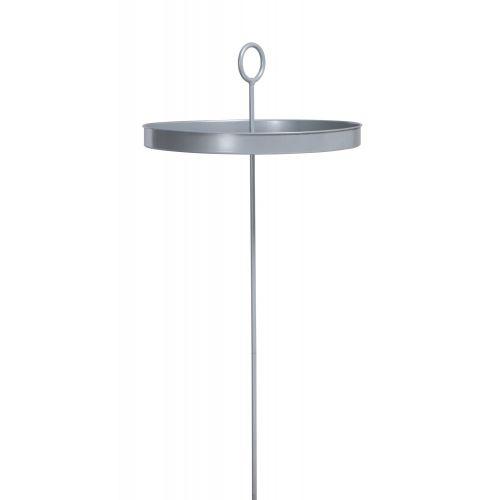 Mesero Silver - Pulverlakeret stål- hængekøjebord