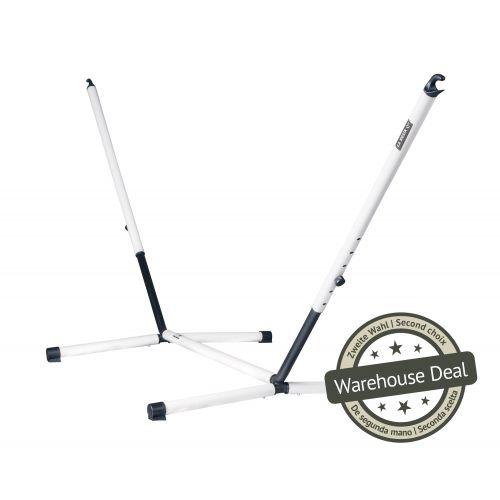 Nautico Cool Grey - Pulverlakeret stål- stativ til dobbelt-hængekøjer