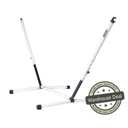 Nautico Cool Grey - Pulverlakeret stål- stativ til kingsize-hængekøjer