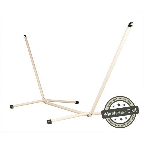 Neptuno Crème - Pulverlakeret stål- stativ til single-hængekøjer