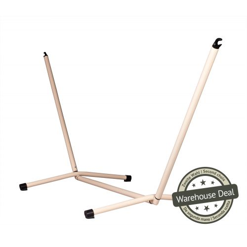 Neptuno Crème - Pulverlakeret stål- stativ til dobbelt-hængekøjer