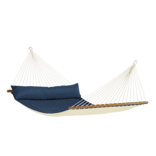 Alabama Navy Blue - Foret Kingsize-hængekøje med tværpind